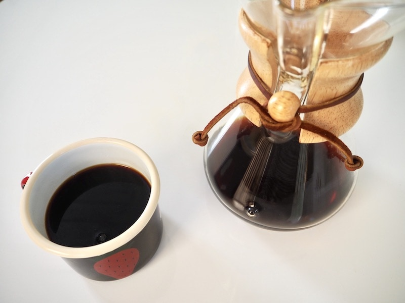 how to use a Chemex coffee