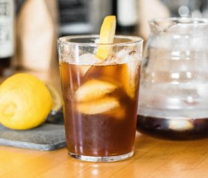 mazagran lemon coffee recipe