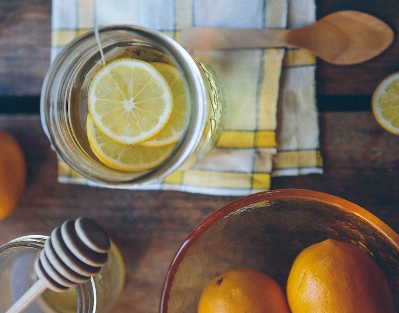coffee lemonade honey