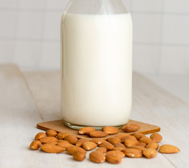 almond milk for coffee