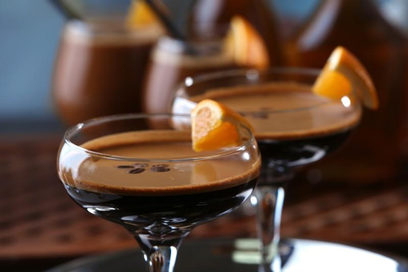 flaming spanish coffee cocktail