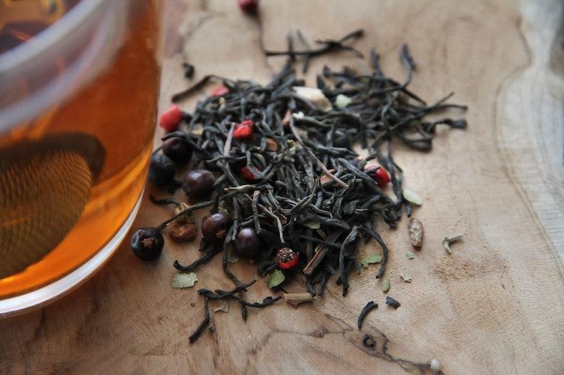 برگهای چای شل