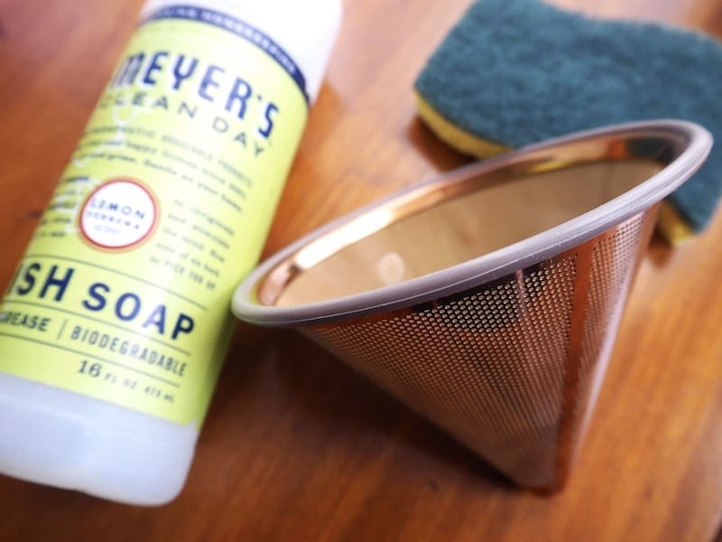 reusable filter soap