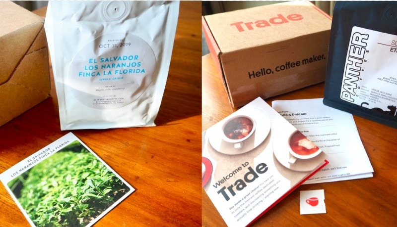 Blue Bottle vs Trade coffee subscriptions