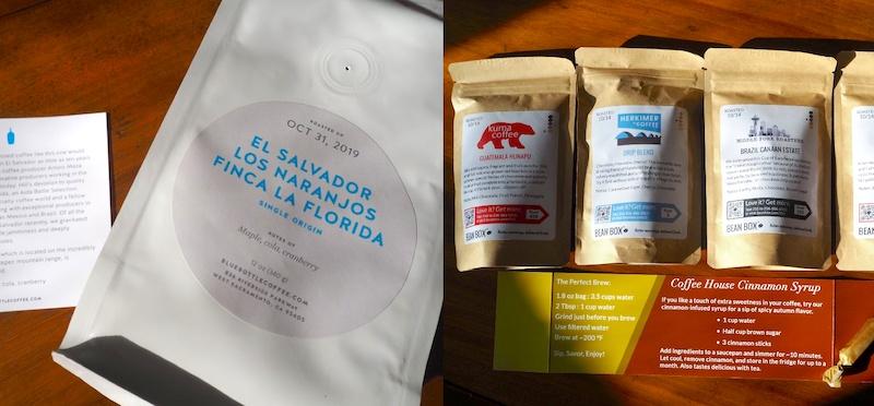 bean box vs blue bottle coffee subscriptions