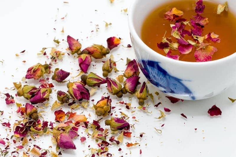 pink herbal tea