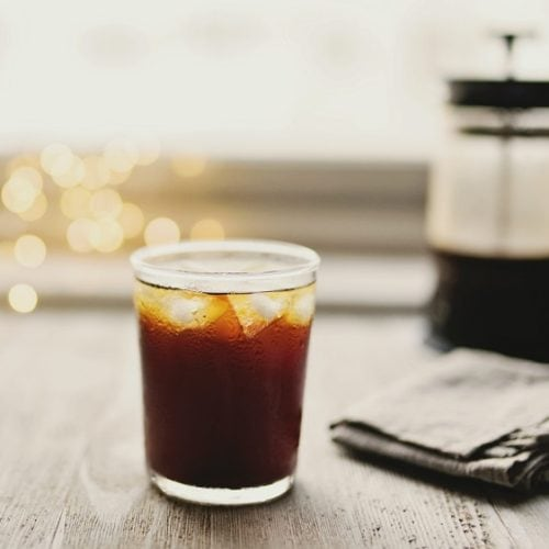 Iced coffee_French Press