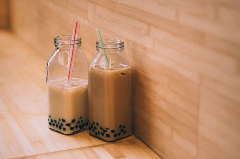 مروارید لوبیا در یک کافه
