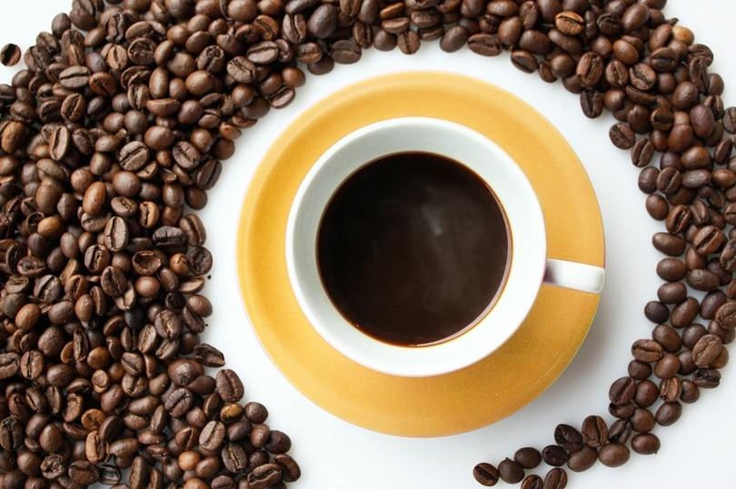 دانه های قهوه تفت داده شده در پیکسابای