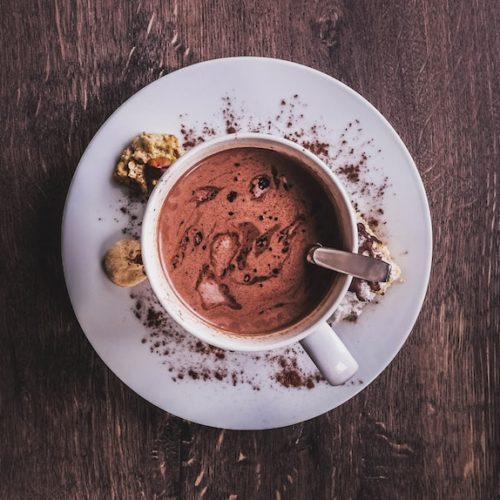 شکلات داغ با اسپرسو