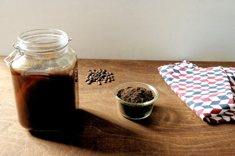 fermented coffee kombucha
