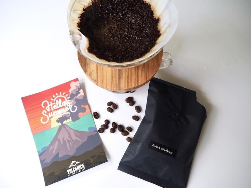 Volcanica Sumatra Mandheling with Hario V60 brewer