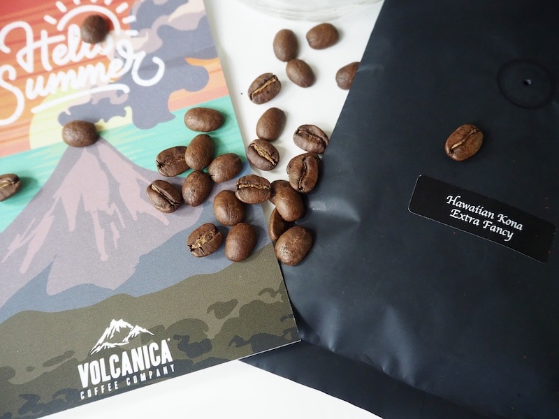 Volcanica Hawaiian Kona Extra Fancy coffee beans