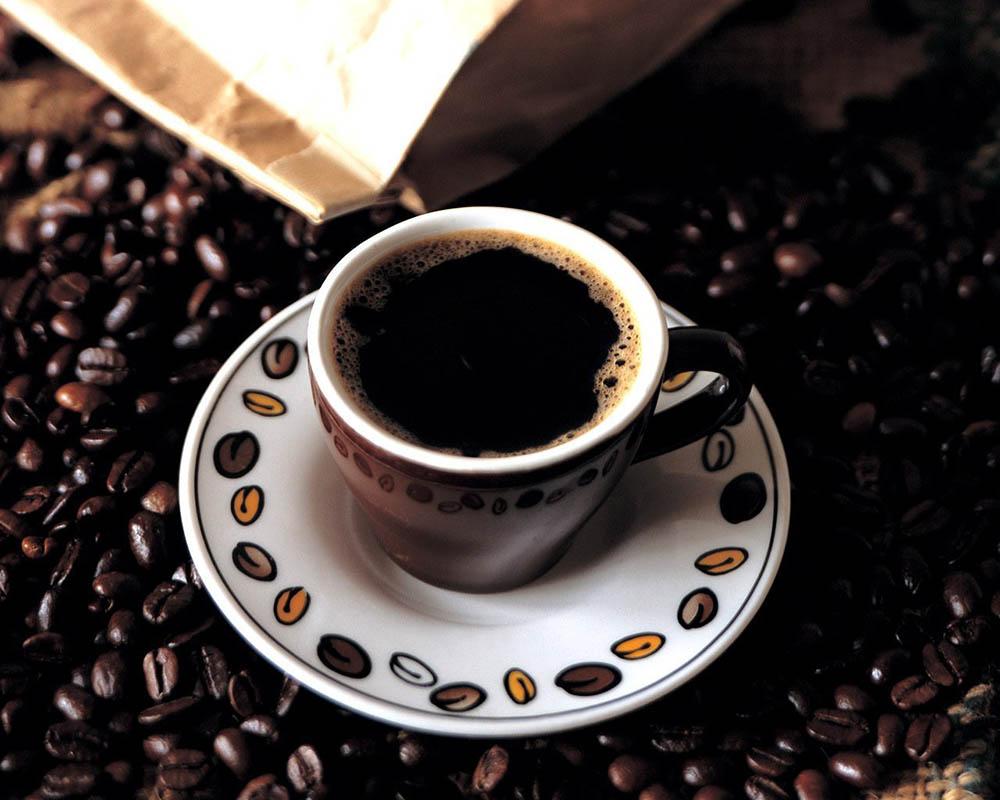 دانه های قهوه حریر اتیوپی ملکه شهر