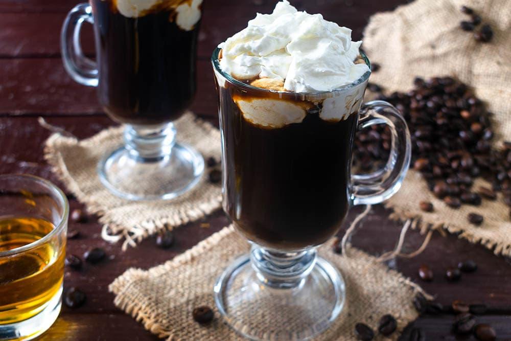 irish cream coffee cocktail