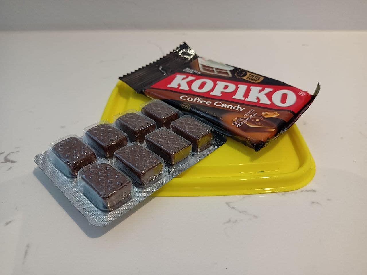 بسته تاول آب نبات های قهوه Kopiko