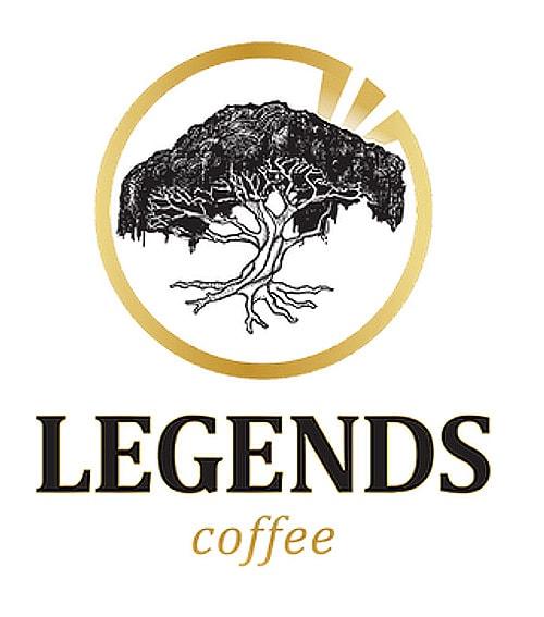 لوگوی قهوه Legends