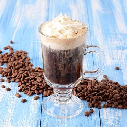 قهوه خامه ای ایرلندی بدون الکل
