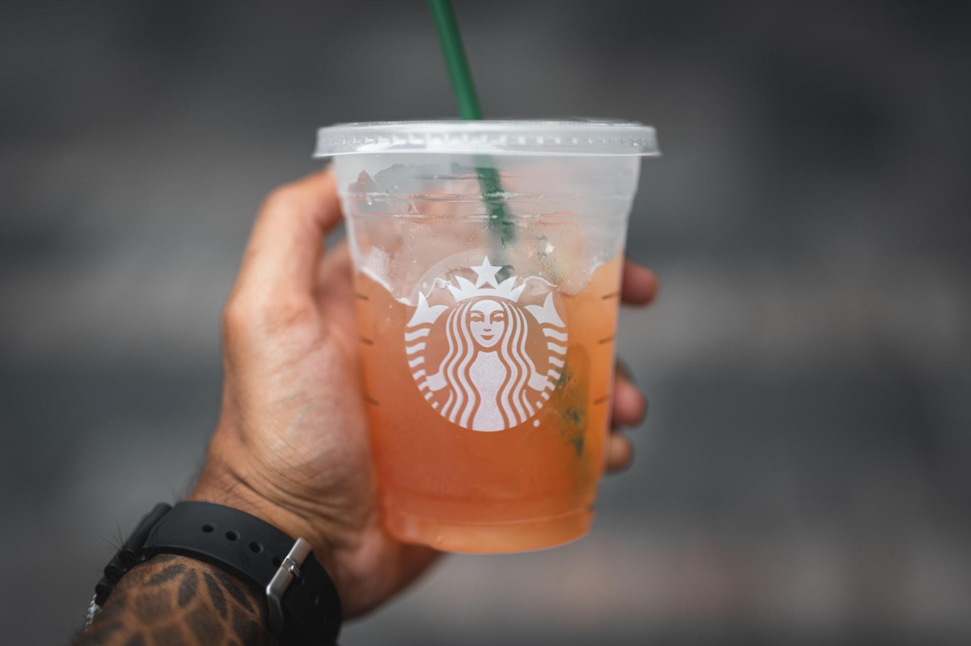چای سرد استارباکس