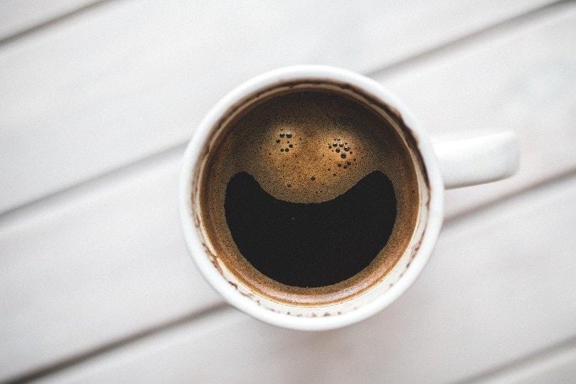 قهوه خندان در یک فنجان