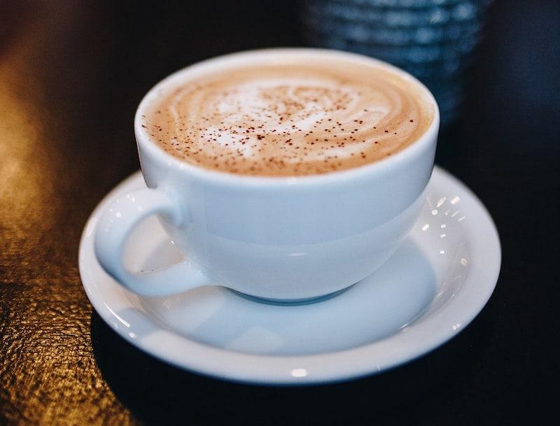cinderella latte with cinnamon