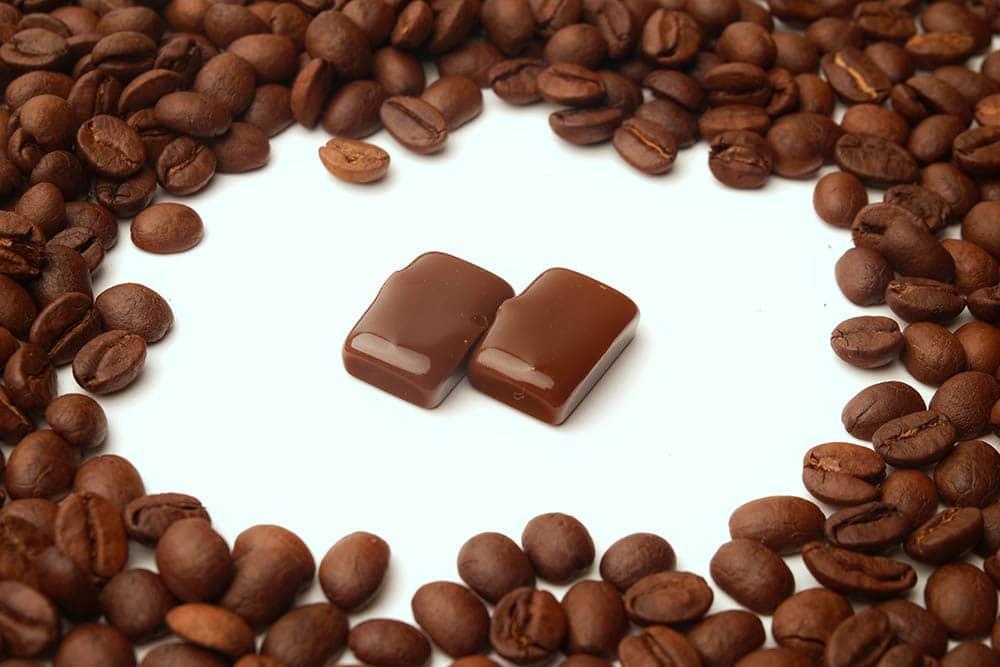 مکعب های قهوه