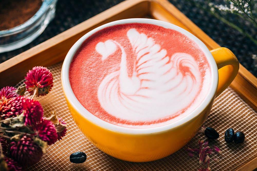 Red Velvet Latte از نزدیک