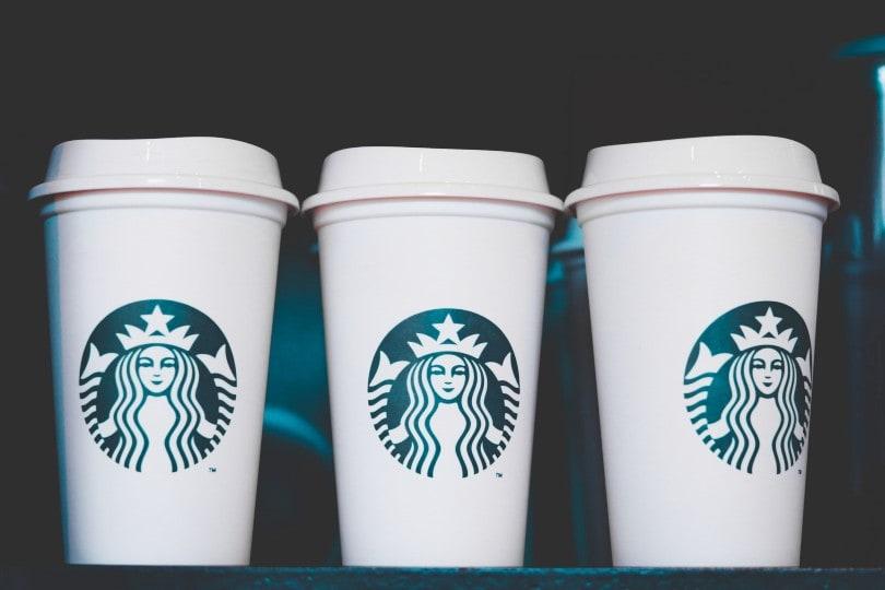 لیوان های کاغذی استارباکس