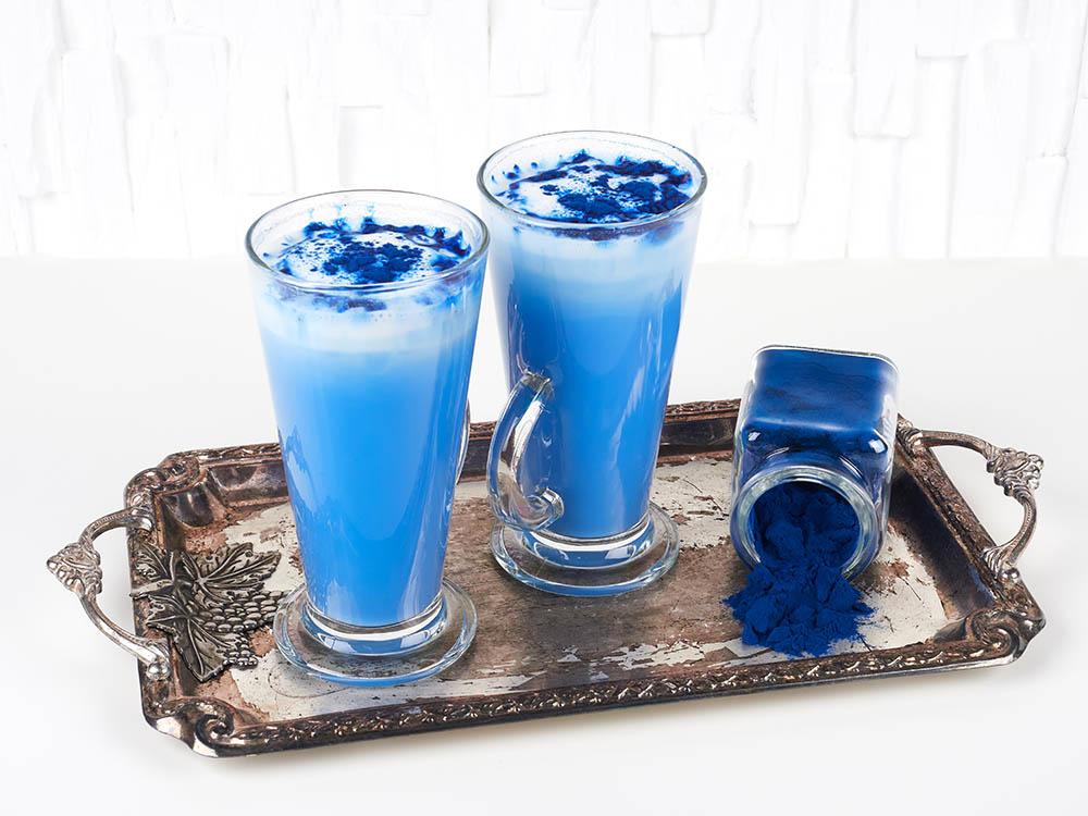 دو لاته با جلبک آبی