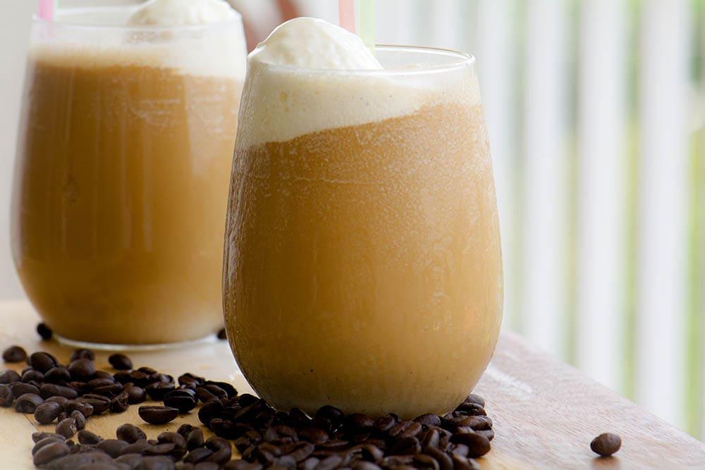 root beer coffee float
