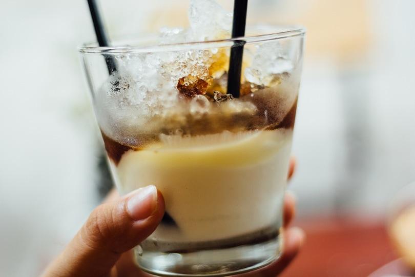 yogurt coffee drink